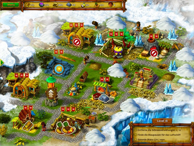 Screenshot  «Moai 6: Unerwartete Gäste» № 2
