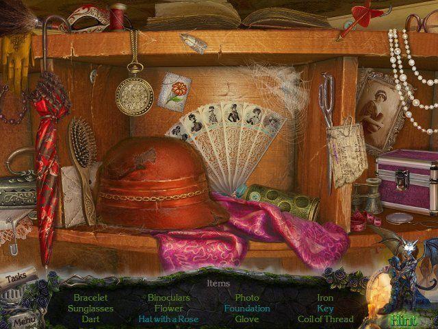 Screenshot  «Mystery Castle: The Mirror's Secret. Platinum Edition» № 2