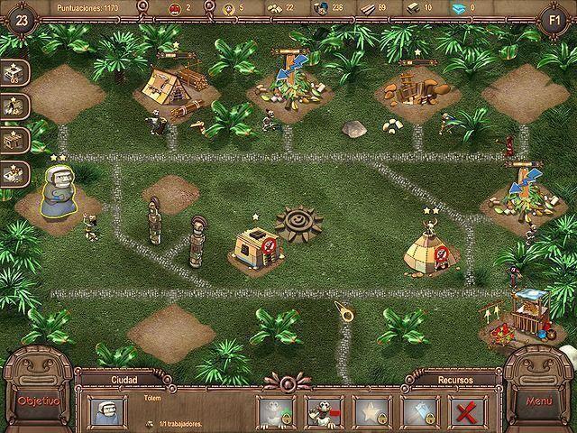 Tribu Azteca en Español game