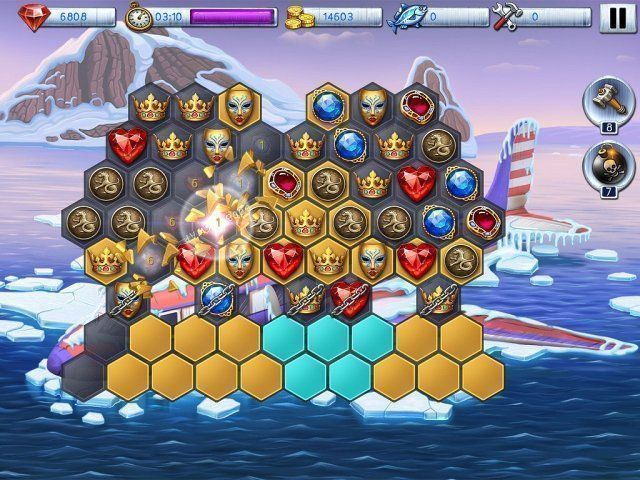 Lost in Reefs: Antarctic en Español game
