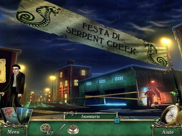 9 Clues: IL segreto di Serpent Creek game