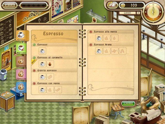 Gioco Jo's Dream: La Caffetteria download italiano