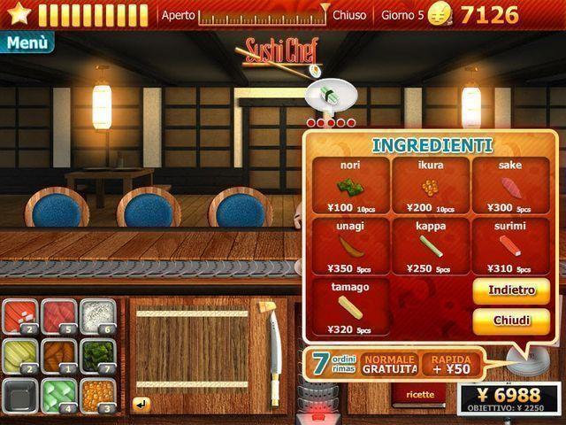Youda Sushi Chef, screenshot 6.
