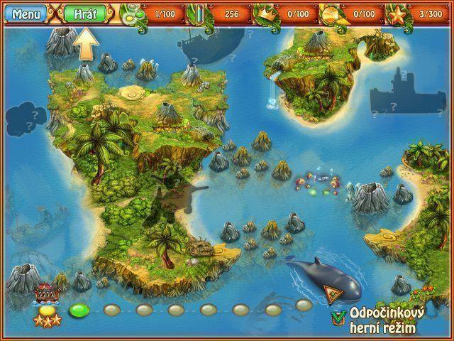 Císařský ostrov 2: Pátrání po nové zemi